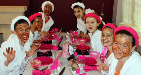 Girlylicious Pamper Parties In Portsmouth Hampshire